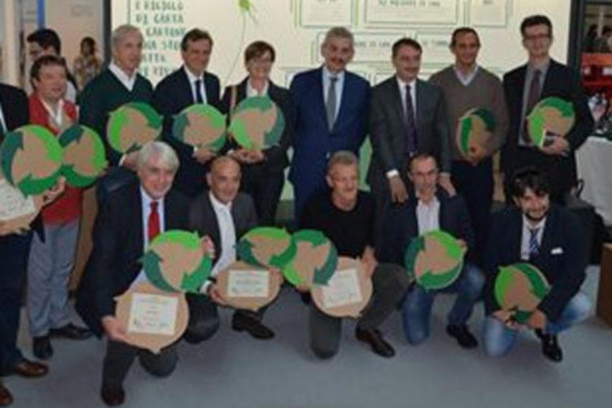 Ecomondo: 19 i Convenzionati premiati per il loro storico impegno nella raccolta di carta e cartone